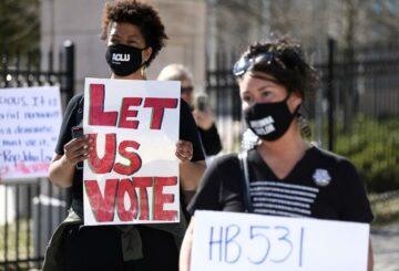 Grupos de derechos civiles de EE. UU. Demandan a Georgia por nuevas restricciones de voto radicales