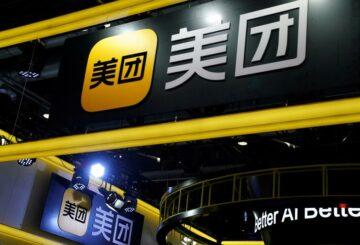 La empresa china de entrega de comida Meituan dice que los ingresos del cuarto trimestre aumentan un 35%