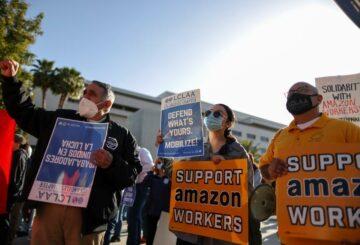 La junta laboral de EE. UU. Comienza a revisar las boletas de los trabajadores de Amazon en Alabama