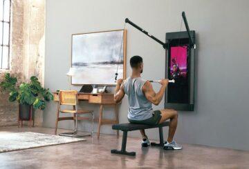 La startup de gimnasio digital en la pared, Tonal, recauda 250 millones de dólares a 1,6 dólares.  miles de millones de valoración