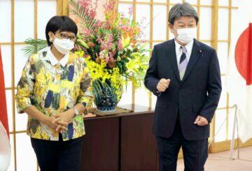 Ministro de Relaciones Exteriores de Indonesia: en estrecho contacto con Japón sobre Myanmar