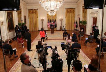 Recuadro: Corea del Norte, inmigración, reelección, agenda principal en la primera conferencia de prensa de Biden en la Casa Blanca