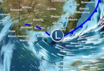 Ciudades afectadas por un aguacero récord en marzo, más lluvia en camino