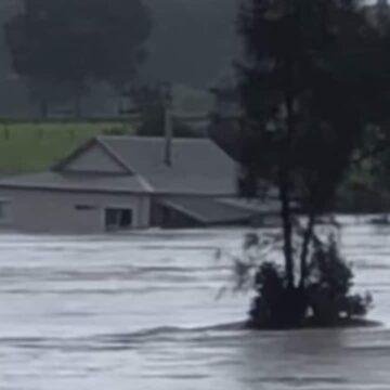 Taree: la casa de la pareja arrasada por las inundaciones en el río Manning