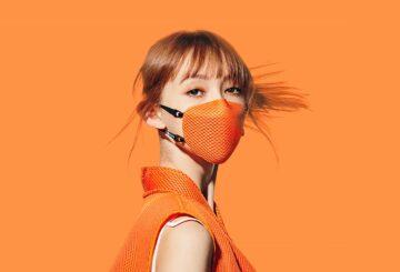 Natalia Vodianova ha creado una mascarilla ecológica elegante y de alta especificación