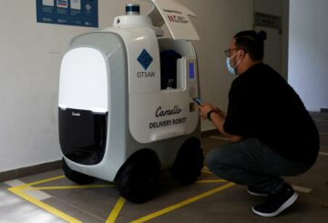 ¿Quedarse sin leche?  Robots de guardia para entregas a domicilio en Singapur