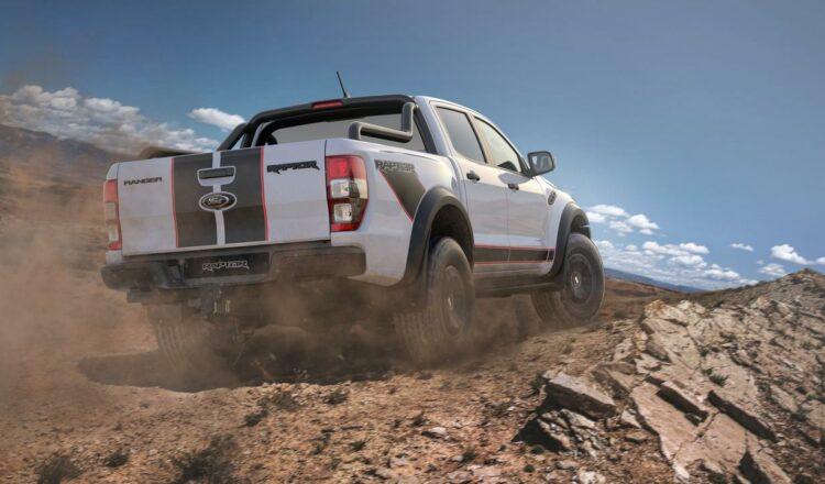Presentado el nuevo Ford Ranger Raptor X