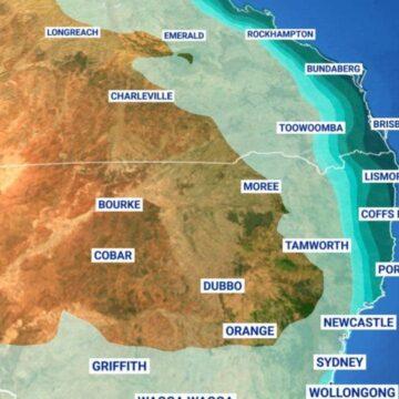 Es probable un fin de semana húmedo, más seco en el sur