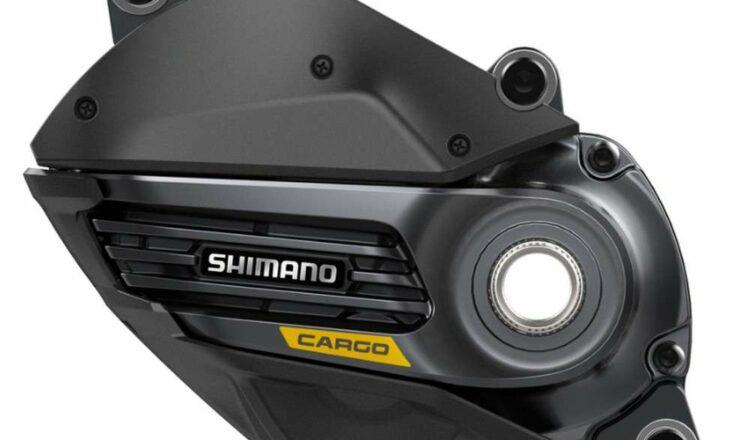 Le moteur électrique pour vélo cargo Shimano DU-E6100-CRG. © Shimano