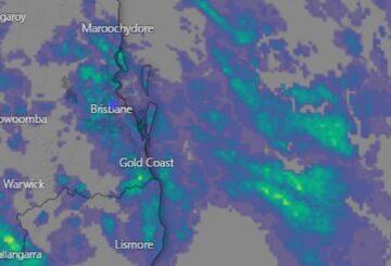 Southeast Qld empapado por la lluvia, Sunshine Coast es el más afectado