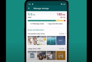 WhatsApp: una nueva función para hacer espacio
