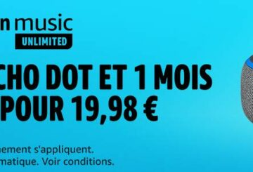 ¡Disfruta de un Echo Dot y un mes de música en Amazon Music Unlimited por 19,98 euros!  |  Diario del friki