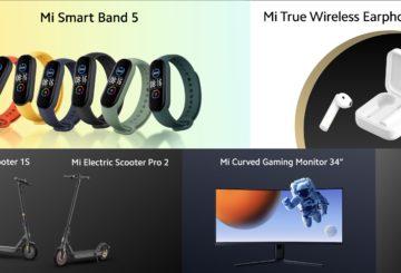 Xiaomi presenta nuevos productos: scooters, auriculares inalámbricos, Mi TV Stick, Mi Band 5 e incluso un monitor de juegos.  |  Diario del friki