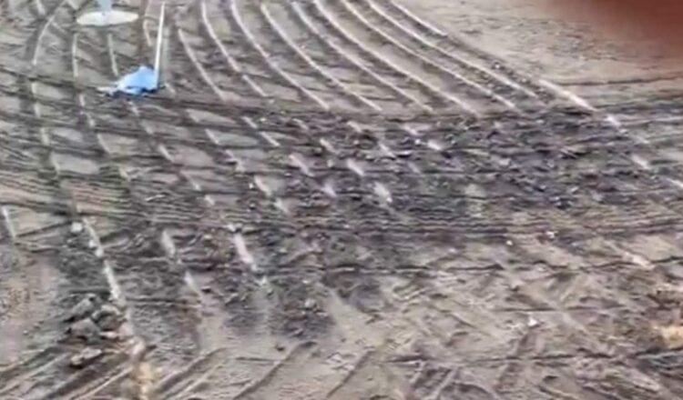 Residentes de Dunedoo tambaleándose después de que un arado destruyera un campo de golf