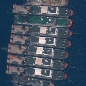 El ejército filipino encuentra estructuras construidas 'ilegalmente' después de que los barcos chinos 'pululan' en un arrecife en disputa