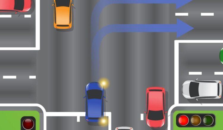 La desconcertante regla del semáforo en amarillo divide a los automovilistas cuando se puede girar a la derecha