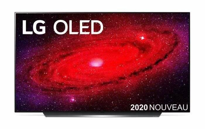 Bon plan : la télévision LG OLED55CX6 © Cdiscount