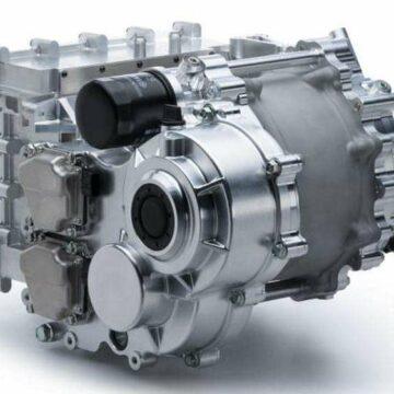 Le moteur électrique Yamaha 350 kW dans sa configuration refroidissement à huile. ©Yamaha