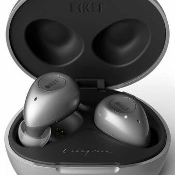 Les écouteurs Bluetooth Kef Mu3. © Marc Zaffagni