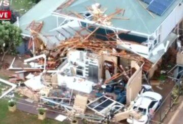 Ciclón deja rastro de ruinas en la costa oeste de Australia Occidental