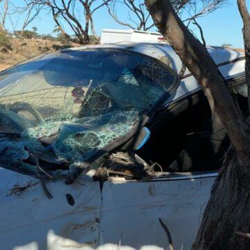 La policía dice que una mujer de Australia del Sur sopla 0.365 con dos niños en el auto