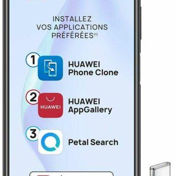 Bon plan : le smartphone Huawei P40 lite © Amazon