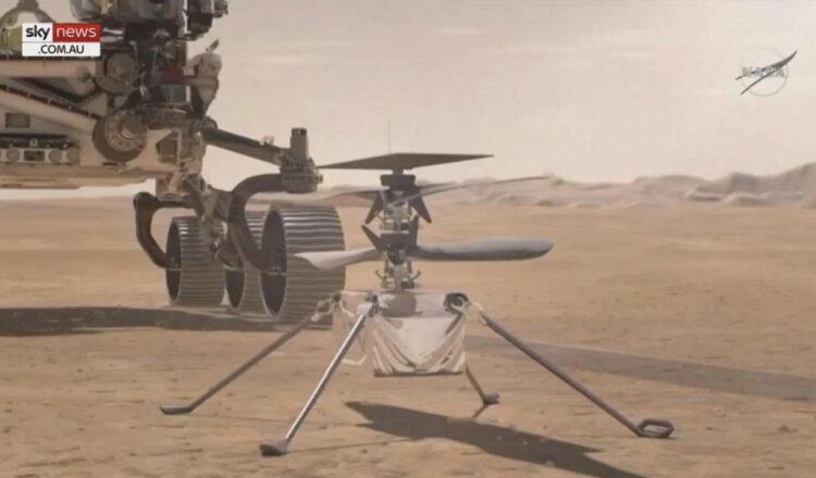El helicóptero Mars de la NASA completa el primer vuelo controlado tras el despegue del Ingenuity