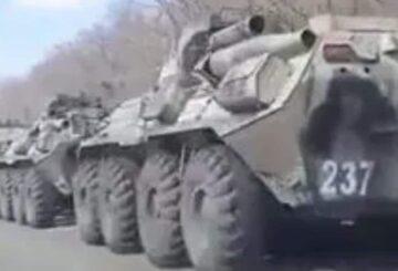 Los videos revelan una acumulación militar masiva en la frontera