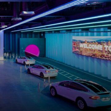 Le premier tunnel de The Boring Company à Las Vegas comprend trois arrêts. © The Boring Company