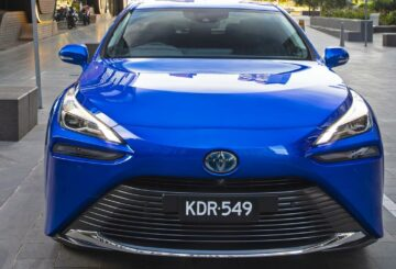 Revisión de Toyota Mirai 2021 |  Pila de combustible de hidrógeno, coche eléctrico, explicado