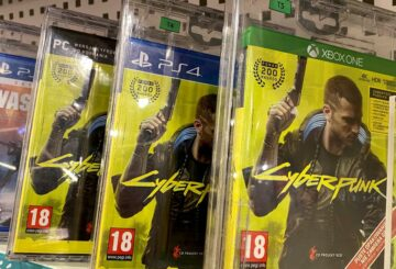 Boxes with CD Projekt