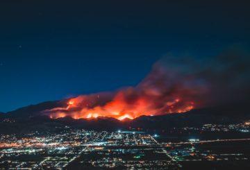 California lucha contra incendios forestales