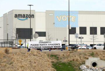 Comienza el recuento de elecciones sindicales de Amazon, participación del 55%