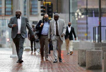 'Esta es su sangre': el abogado de derechos civiles Crump lucha por la familia de George Floyd