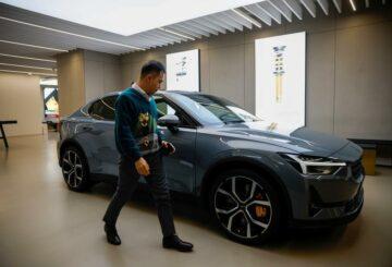La unidad de vehículos eléctricos de Geely, Polestar, recauda 550 millones de dólares, dice la compañía
