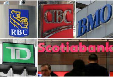 Los bancos canadienses reducen la fuerza laboral ya que invierten fuertemente en tecnología