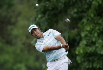Matsuyama de Japón en control de Masters, lidera por cuatro golpes