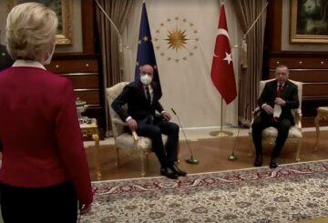 Michel de la UE dice que está durmiendo mal después de un error en el sofá en Turquía