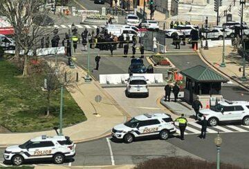 Murió sospechoso de ataque con vehículo en el Capitolio de EE. UU .: CNN, AP