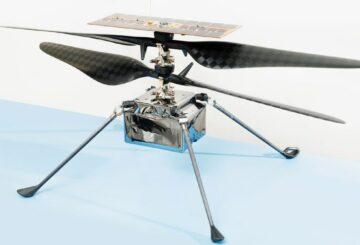 NASA Lands Ingenuity, el primer helicóptero de Marte