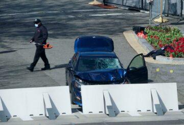 Oficial de policía asesinado en ataque con vehículo al Capitolio de EE. UU.