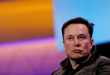 SpaceX owner and Tesla CEO Elon Musk speaks during a conversation with legendary game designer Todd Howard (not pictured) at the E3 gaming convention in Los Angeles, California, U.S., June 13, 2019.  REUTERS/Mike Blake/File Photo