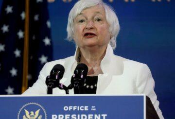 Yellen promete cooperación internacional de EE. UU. Y pide un impuesto mínimo global
