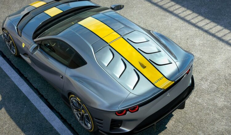 Revelada la versión especial del Ferrari 812 Superfast