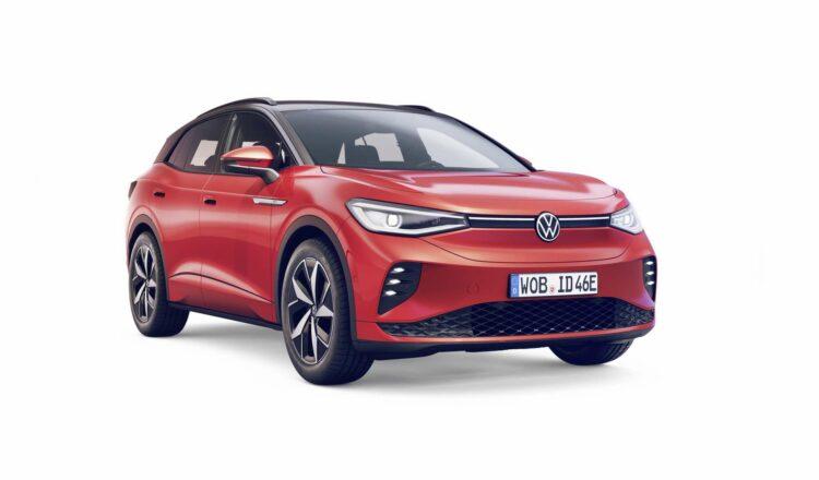 Le Volkswagen ID.4 GTX a droit à un éclairage Led spécifique. © Volkswagen