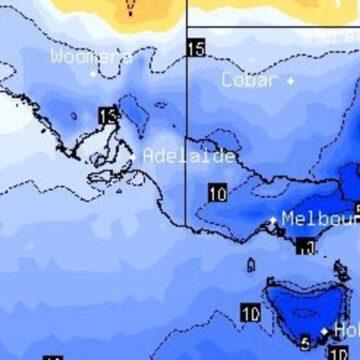 Pronóstico del día más frío del año