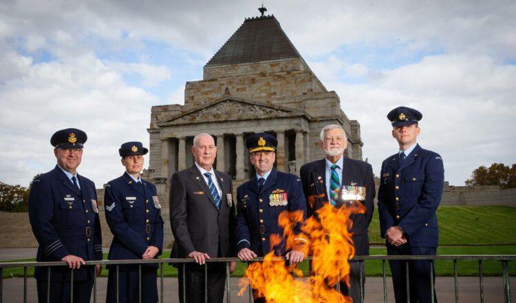 Santuario del DÍA ANZAC marzo 2021 planes de Melbourne
