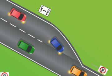 El cuestionario de reglas de la carretera de Qld desconcierta a los conductores con la pregunta de fusión de autopistas