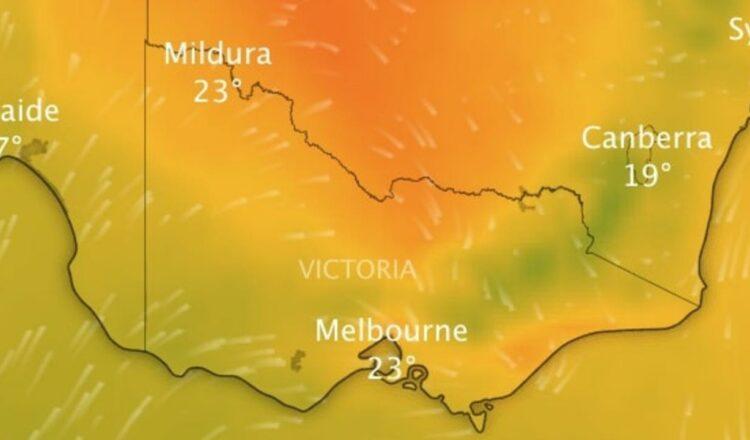 Hechizo cálido de fin de semana para barrer Victoria