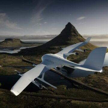 Le drone Wingcopter 198 pourrait servir à réaliser des livraisons dans des zones difficiles d'accès. © Wingcopter
